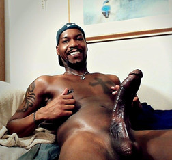 Black boys exposing their huge erect..