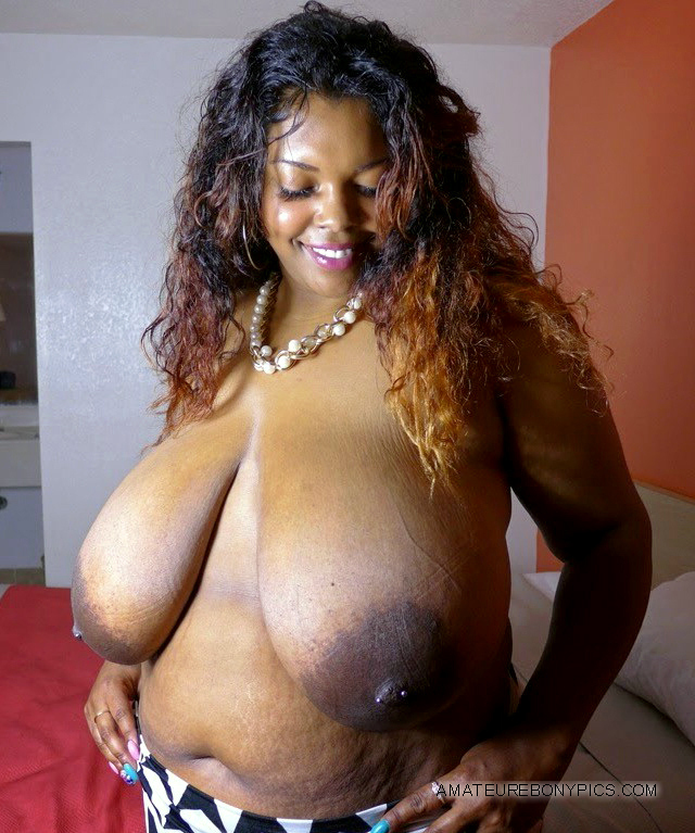 Big titty ebony bbw milf