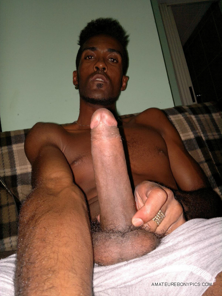Mixed Pics Of Naked Black Man With Erect Dicks In Hand